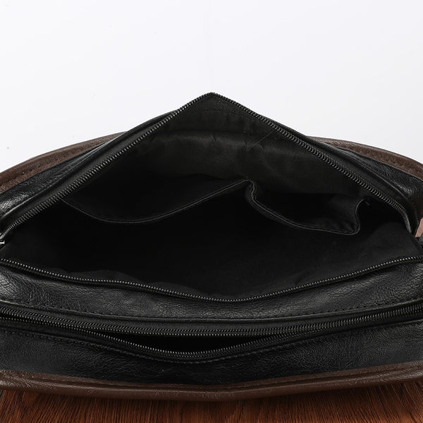 PocoPlus 韓版男士單肩包 IPAD潮流小背包文件包潮商務休閒小挎包 B1230