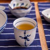 青窯手繪梅花茶杯170ml-生活工場