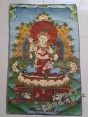 西藏唐卡佛像 絲綢繡尼泊爾唐卡畫 雙休佛畫像 唐