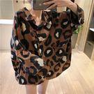 豹紋襯衫寬鬆洋裝  ♥ onetwo♥...