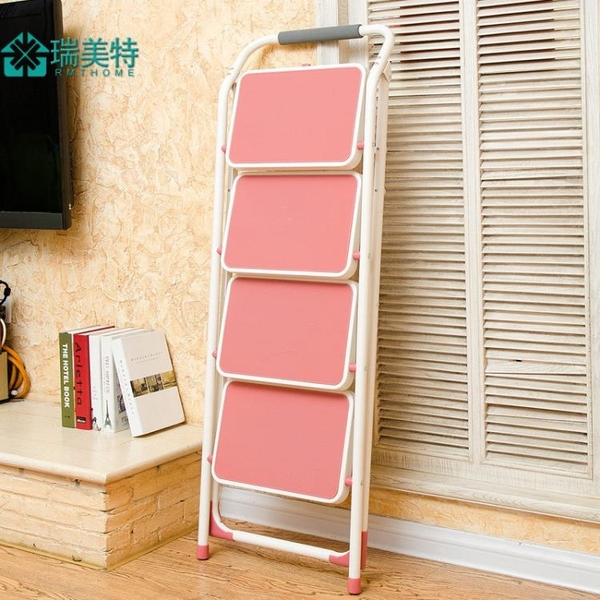 梯子家用摺疊加厚室內人字梯多功能三四步梯