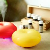 送精油【Tick Tock】豔陽黃 - 法式馬卡龍香氛水氧機 + 贈隨行化妝包*1