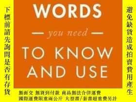 二手書博民逛書店1001罕見Words You Need To Know And
