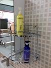衛浴 浴室 雙層轉角架 收納網籃 收納架...