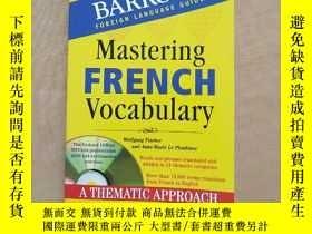 二手書博民逛書店Mastering罕見FRENCH Vocabulary A T