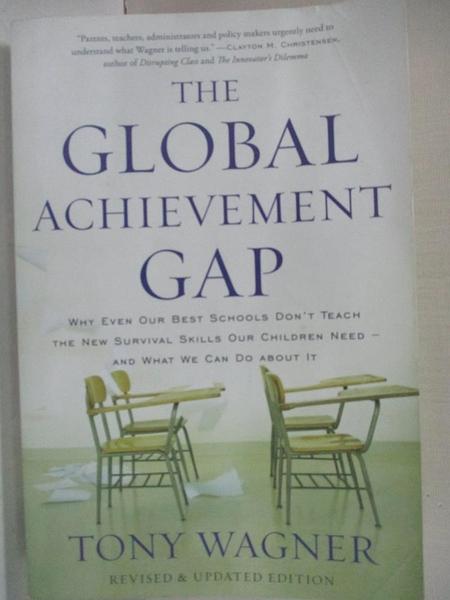 【書寶二手書T1/大學社科_LAS】The Global Achievement Gap: Why Even Our…