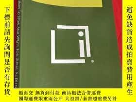 二手書博民逛書店How罕見to Speak and Write for Rural Audiences (小16開) 【詳見圖】奇