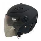 2XL號 GP-5 232 素色3/4罩式安全帽-消光黑 【亞克】