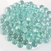 16mm 玻璃珠 清珠(無彩花)/一小袋約50顆入(定40) 玻璃彈珠 建材玻璃珠-錸