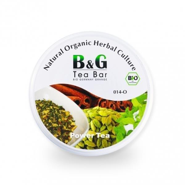 【南紡購物中心】【 B&G德國農莊】有機元氣茶-圓鐵罐