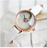 石英女表 聚利時新款小盤手表復古簡約小巧圓表盤學生女表防水時尚腕表 優品匯