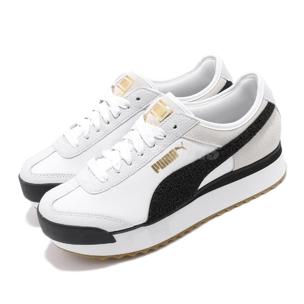 Puma 休閒慢跑鞋 Roma Amor Heritage Wns 白 黑 女鞋 運動鞋 【PUMP306】 37094701