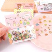 角落生物貼紙-韓國創意小清新角落生物貼紙透明卡通可愛貼紙包diy手賬裝飾貼 多麗絲