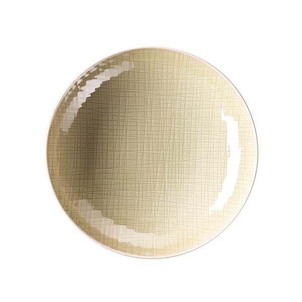 德國 Rosenthal Mesh圓深盤-奶油白