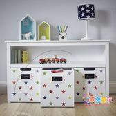 兒童玩具收納架卡通收納櫃多層置物架寶寶書架幼兒園整理架多功能 XW