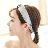 亮丫頭鬆緊發帶發箍韓國頭飾甜美森女系簡約寬邊化妝洗臉頭箍布藝