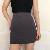 包臀裙春夏秋新款彈力緊身包臀裙短裙性感街拍外穿高腰雙層半身裙 衣間迷你屋