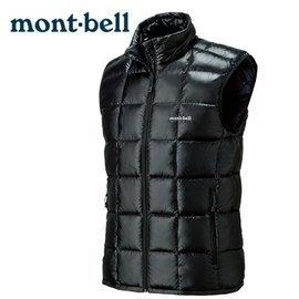 丹大戶外 日本【mont-bell】Superior 男款羽絨背心 1101468BK 黑