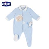 chicco-北極小熊-有領前開兔裝