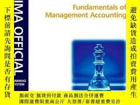 二手書博民逛書店Cima罕見Learning System Fundamentals Of Management Accounti