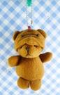 【震撼精品百貨】日本精品百貨-狗變熊鎖圈-黃