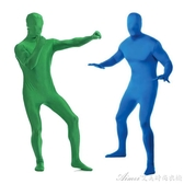 影視特效摳像布綠布衣服綠色背景布摳圖衣隱形衣摳圖摳綠後期電影視頻制作 艾美時尚衣櫥 YYS