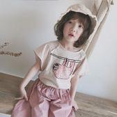 *╮小衣衫S13╭*日系休閒寬鬆不修邊短袖T恤1070427