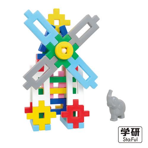 【奇買親子購物網】日本Gakken 學研益智積木-新大量超值組