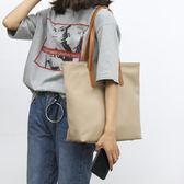 帆布包 原創文藝新款皮包學院風女包單肩大包休閒包子母包簡約百搭大包包 城市科技