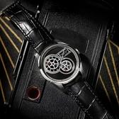 Hamilton 漢米爾頓 JAZZMASTER 非對稱復古電影膠捲盤機械錶-黑/42mm H42605731