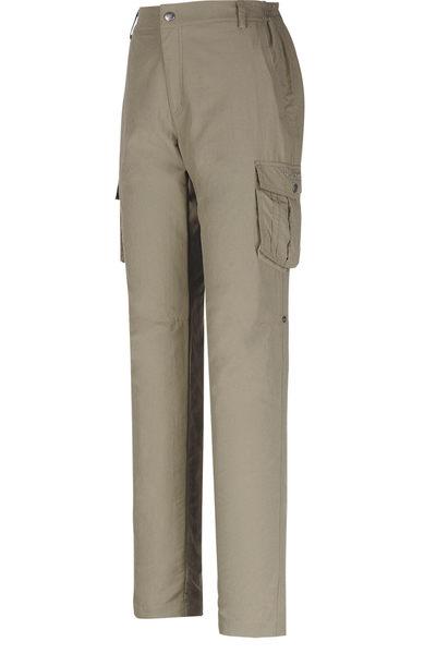 ╭OUTDOOR NICE╮山林MOUNTNEER 女款SUPPLEX可調節長褲 21S02 卡其 排汗褲 休閒褲 多口袋 多功能
