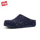 熱銷推薦【FitFlop】SHUV FELT 易穿脫舒適羊毛休閒鞋-午夜藍