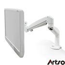 【Artso亞梭】白弧氣壓懸臂-無死角雙氣壓臂夾式懸架穩定性高螢幕架LCD架支撐架