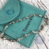 BRAND楓月 TIFFANY&CO. 蒂芬妮 水滴造型 925純銀 手鍊 手環 飾品 配件