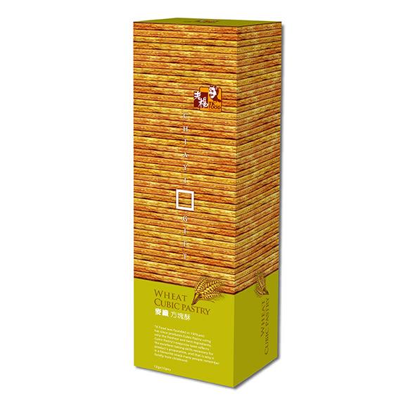 【老楊】-麥纖方塊酥 田園系列 120g