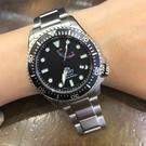 【萬年鐘錶】東方 ORIENT STAR WATER RESISTANT 200m潛水錶 鋼帶款 黑圈 機械錶  WJRA-EL0001B