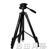 佳能單反照相機三腳架80D90D600D800D700D70D750D60D6D便攜支架 自由角落