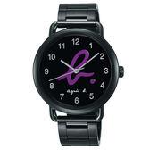 【僾瑪精品】agnes b. 藝術之都 BG8039X1 時尚不鏽鋼腕錶/40mm/VJ21-KX30P