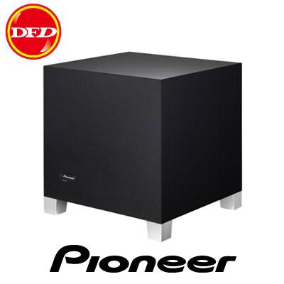 Pioneer 先鋒  S-51W 主動式重低音揚聲器 最大280W  20公分(8吋)大型低音單體  公司貨