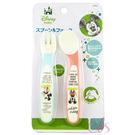 日本 SKATER Micky Mouse 米奇離乳食幼兒叉匙套裝 ☆艾莉莎ELS☆