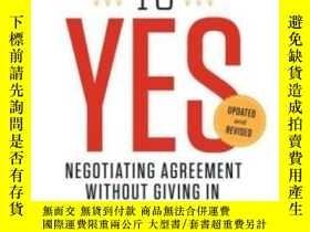 二手書博民逛書店Getting罕見To Yes-是的Y436638 Roger Fisher; Wil... Penguin