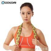 冷感運動毛巾吸汗速干健身房男女跑步擦汗手腕巾冰巾降溫消費滿一千現折一百