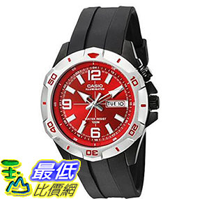 [美國直購] 手錶 Casio Men s MTD1082-4AV Super Illuminator Analog Quartz Black Resin Watch