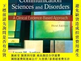 二手書博民逛書店Communication罕見Sciences And Disorders: A Clinical Evidenc