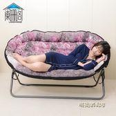 懶人單人小沙發床榻榻米休閒臥室客廳小戶型折疊雙人地板陽台沙發MBS「時尚彩虹屋」