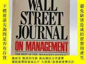 二手書博民逛書店The罕見Wall Street Journal On Mana