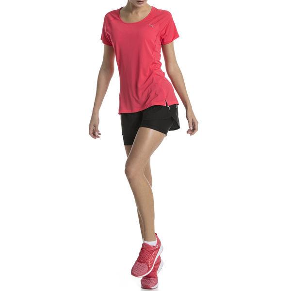Puma Core-Run 女 粉色 短袖 上衣 慢跑衣 訓練系列 短袖T恤 透氣 排汗 休閒 運動 瑜珈 51646603