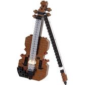 《 Nano Block 迷你積木 》NBC_337小提琴 / JOYBUS玩具百貨