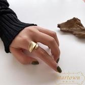 戒指開口可調食指戒指女歐美復古指環【繁星小鎮】