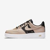 Nike Air Force 1 07 PRM [DA8571-200] 男 休閒鞋 經典 運動 鍊條 金扣 奶茶 黑
